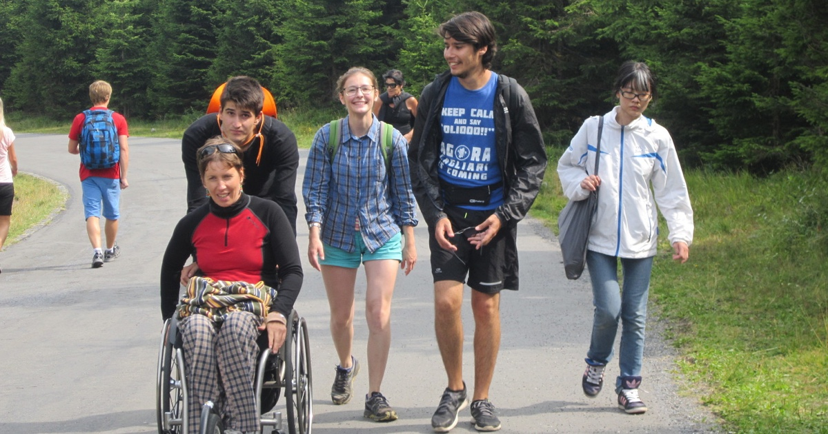 Handicap není stopkou k dobrovolnictví