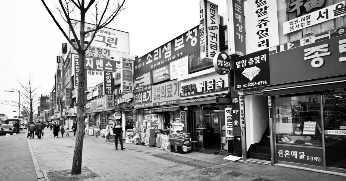 Tři měsíce na dobrovolnickém projektu v Koreji