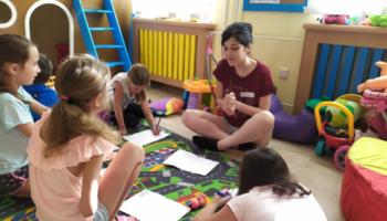 Workcamp: Anglický letní tábor pro děti