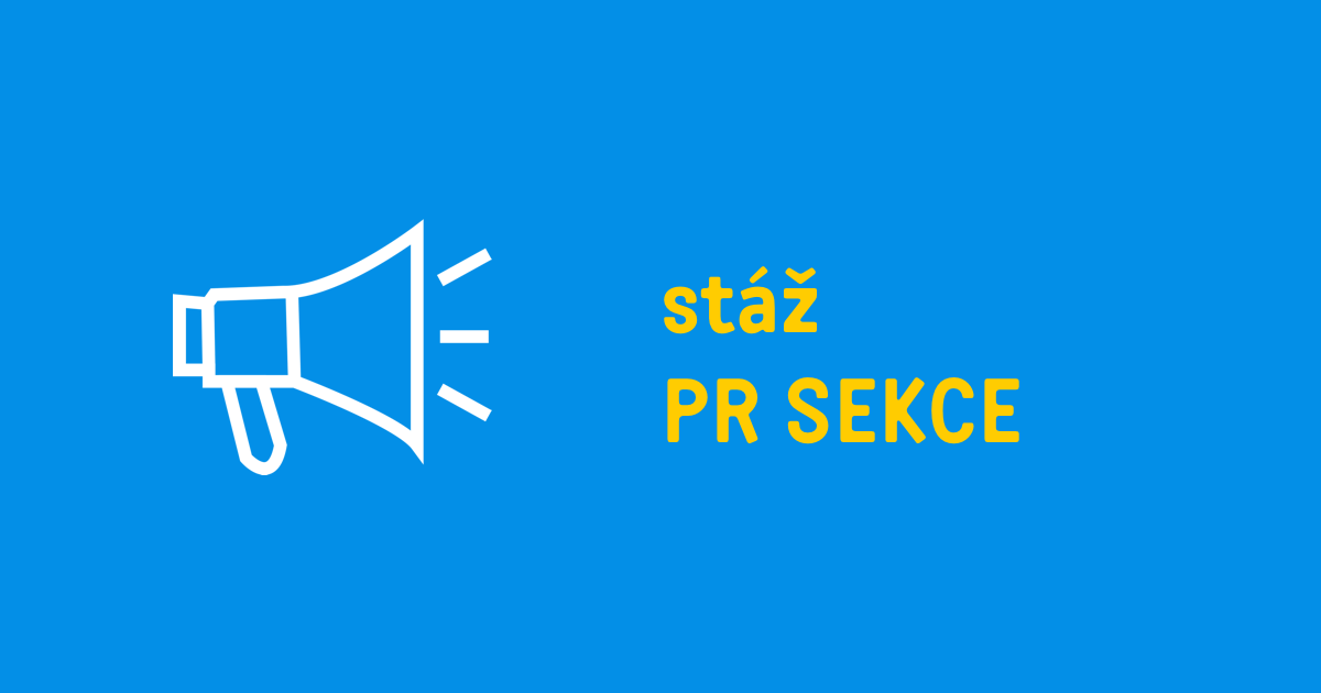 Stáž v PR sekci