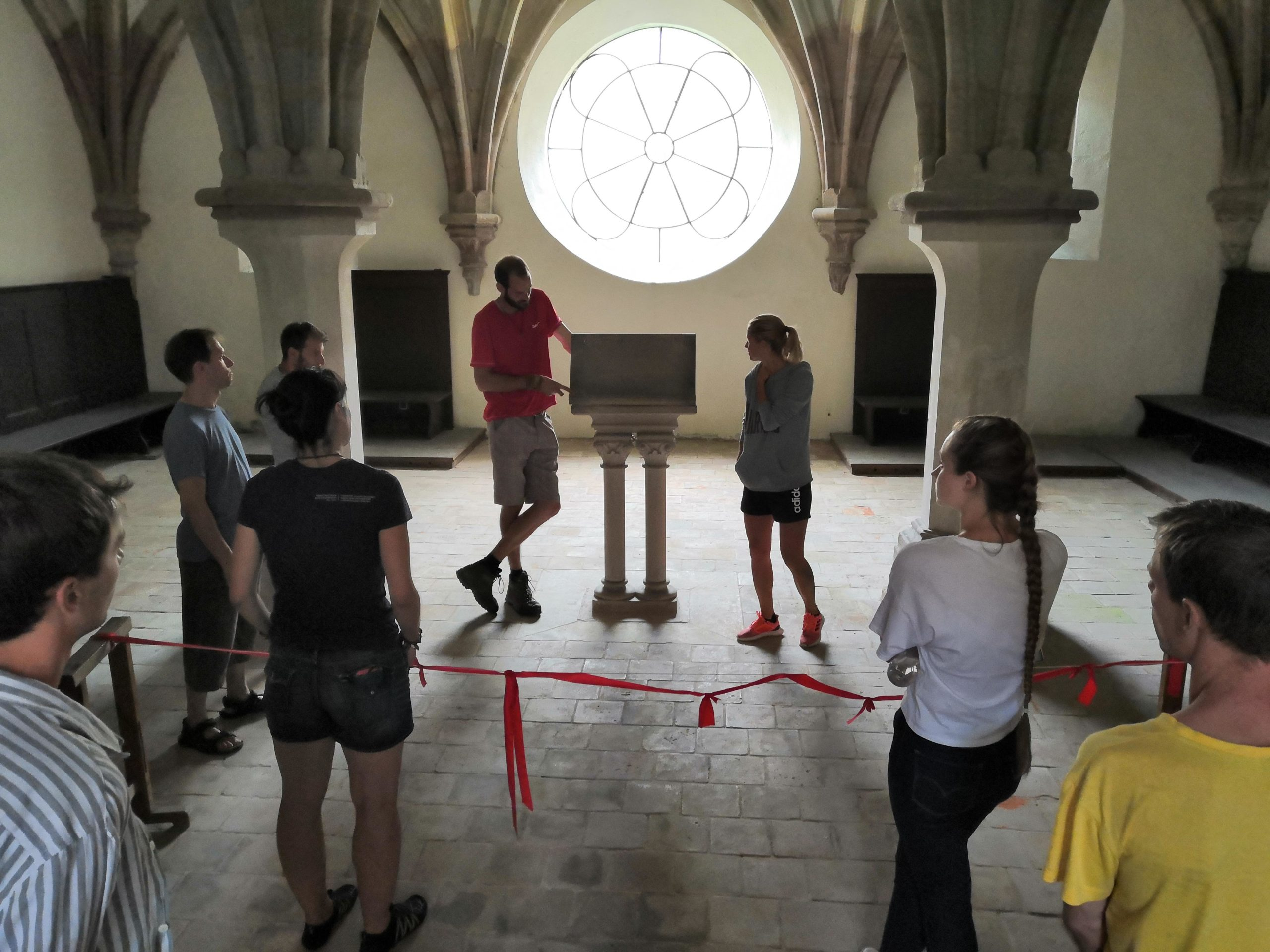Volunteers for Porta Coeli Monastery